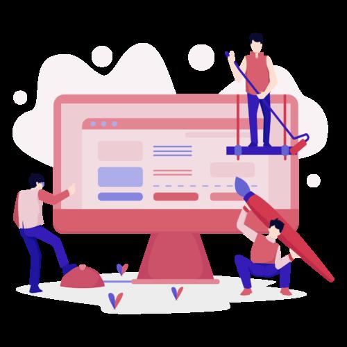 —Pngtree—website design illustration concept. flat_4188249
